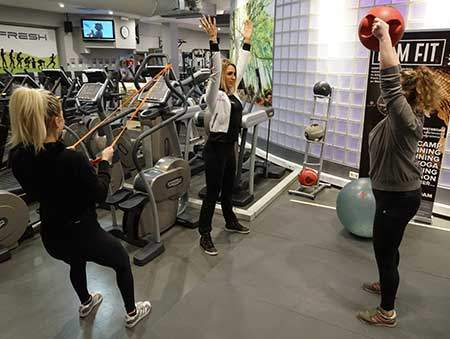 Personal Training Amsterdam and small group training