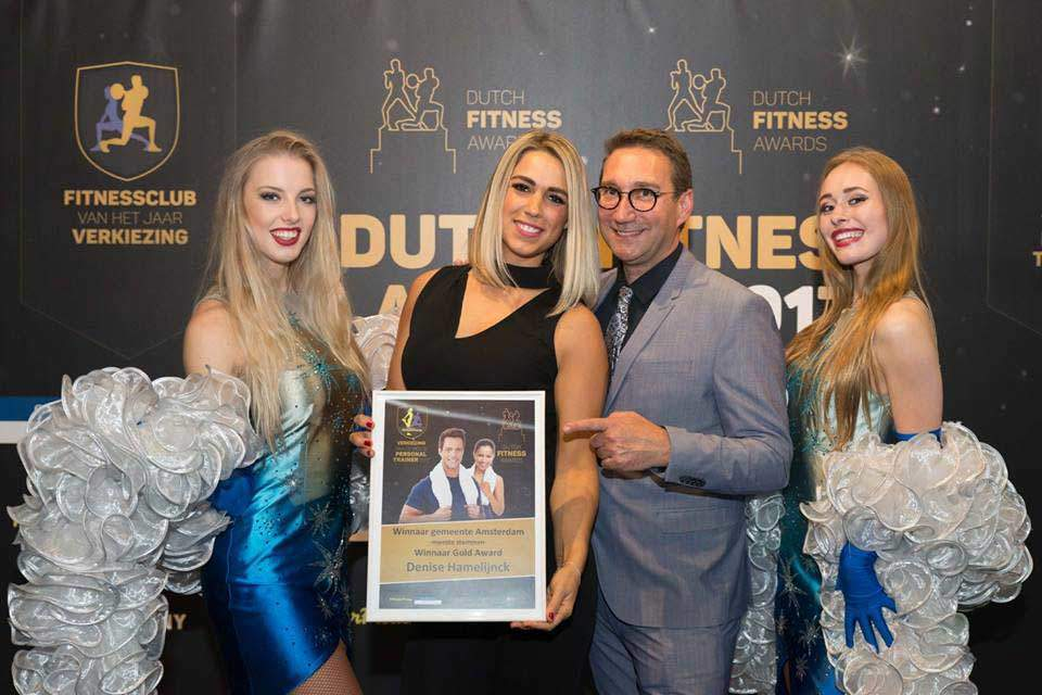 Award best Personal Trainer Amsterdam and Noord-Holland
