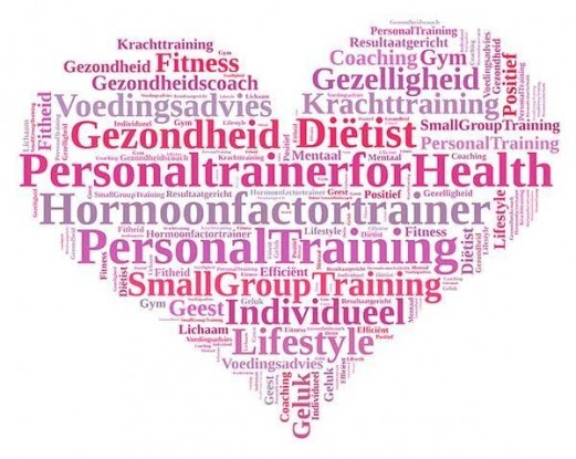 Logo Personal trainer for Health